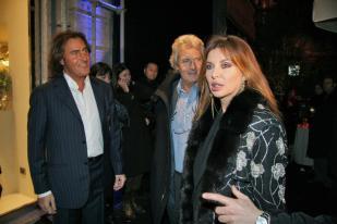 Alba Parietti e Giuseppe Lanza di Scalea