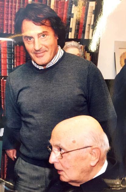 Presidente Emerito della Repubblica Italiana Giorgio Napolitano